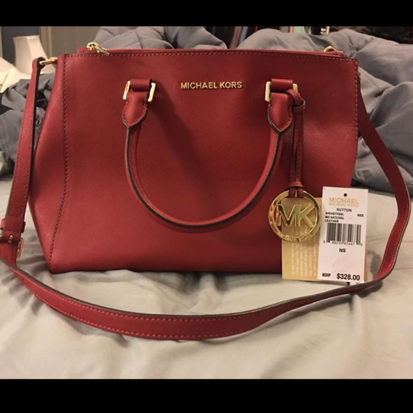 MK Red Purse. Fall collection 2015 7d4f260a178